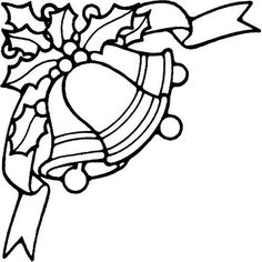 Christmas Bells Coloring Pages Printable Games