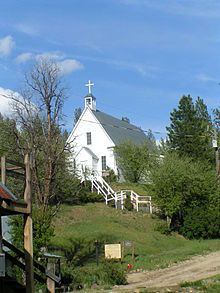 Joseph's Catholic Church – Idaho City, Idaho Moving To Idaho, St Joseph Catholic, Old Country Churches, Coeur D'alene, Painting Lessons, In The Heights, Places To Visit, House Styles, City