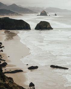Oregon Coast. Ecola State Park, Cannon Beach.