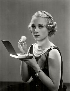 """SALLY EILERS (1908-1978) was an American actress. She made her film debut in 1927 in """"The Red Mill,"""" directed by Roscoe Arbuckle. She had several minor roles then found work with Mack Sennett (perhaps as one of his Sennett Bathing Beauties) in several comedy short subjects, along with Carole Lombard. In 1928 she was voted as one of the WAMPAS Baby Stars. Popular in the early 1930s, she played in comedies & crime melodramas. She was married 4 times, one being actor Hoot Gibson. She had one…"""