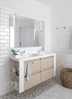 Reinventa tu baño. #baño #bathroom #decoracion  #mueblesdebaño #bath+ #interiordesign