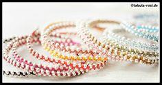 DIY Bling Bling Bracelet Tutorial Bracelet Tutorial, Silver Pearls, Diy Tutorial, Diy Fashion, Bling Bling, Personalized Gifts, Jewels, Beads, Bracelets