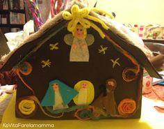 Decorazione natalizia per la porta di casa #Natale #door