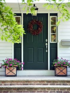 Good Front Door Colors when i have a house, i either want a red front door or a rich