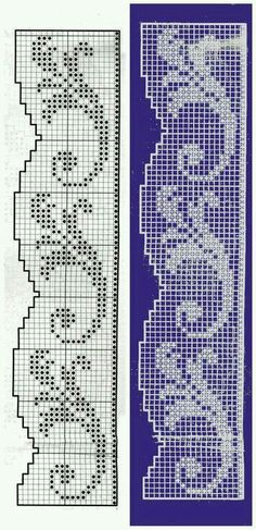 crochet border file