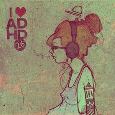 Another Sainer...  ADHD covers by Przemek Blejzyk, via Behance