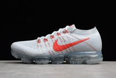 3a77468f7da95 Buy New Year Deals Nike Air VaporMax Flyknit Pure Platinum University Red- Wolf Grey from Reliable New Year Deals Nike Air VaporMax Flyknit Pure ...
