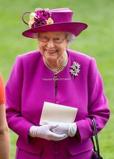 Queen Elizabeth II attends Royal Ascot 2017 at Ascot Racecourse on June 24, 2017 in Ascot, England. (Photo by Mark Cuthbert/UK Press via Getty Images)