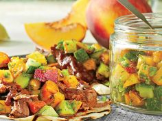 Diced cucumber and jalapeño give this fresh salsa a nice crunch.