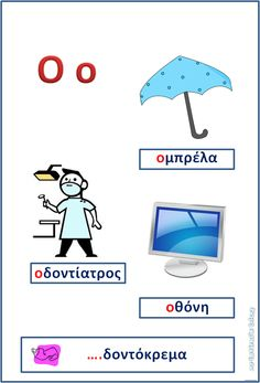 xristina's blog : Ένα μικρό βιβλίο για το αλφάβητο Learn Greek, Greek Language, Alphabet Cards, School Lessons, Learn To Read, Kids Playing, Teaching, Activities, Blog