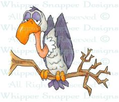 Buzzard - Halloween Images - Halloween - Rubber Stamps - Shop