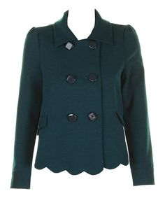 Teal Julia Jacket