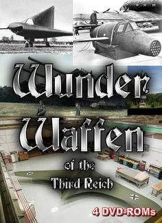 Wunder Waffen of the third reich - 4 DVD ROm boxed