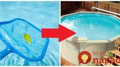 Žiadne Savo ani drahé tablety: Stačí 1 lyžička tohoto zázraku a máte vodu v bazéne čistú celú sezónu, mám overené roky! Tub, Health Fitness, Outdoor Decor, Design, Home Decor, Gardening, Anna, House, Chemistry