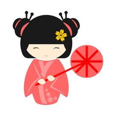 Geisha Pack Cuttable Design Cut File. Vector, Clipart, Digital Scrapbooking Download, Available in JPEG, PDF, EPS, DXF and SVG. Works with Cricut, Design Space, Sure Cuts A Lot, Make the Cut!, Inkscape, CorelDraw, Adobe Illustrator, Silhouette Cameo, Brother ScanNCut and other compatible software.