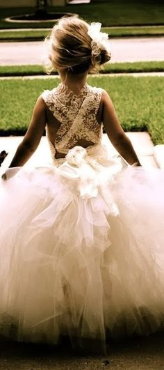This is definitely something like what I'd want to see Marleigh in on my wedding day!