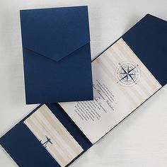 Destination Wedding Invitations - love this nautical themed pocket wedding invitation. http://partyblockinvitations.occasions-sa.com/3148-KEN22438-Destination-Love--Invitation.pro