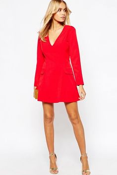 Red Dresses - Bold Red Dress Styles