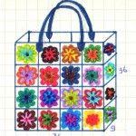 Gratis Haakpatronen: Tassen Haakpatronen Crochet Granny, Diy Crochet, Knit Patterns, Stitch Patterns, Crochet Braids, Crochet Accessories, Beautiful Crochet, Handicraft, Bag Making