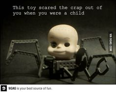 i mean what the heck is that, its like chucky's head on a metal spider! Creepy Toys, What Do You Mean, 90s Kids, Toy Story, True Stories, Scary Stories, Best Funny Pictures, Movies And Tv Shows, Childhood Memories