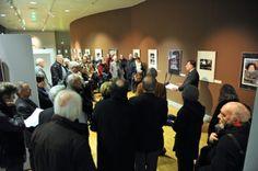 Vernissage de l'expo consacrée à Paul Sonnendrücker à la Maison de la Région.  Entrée libre, expo jusqu'au 30 janvier 2013.