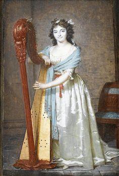 Sophie Taillandier (née Philbert) (1778-1832), 1795 by Francois Dumont (1751-1831)