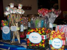 Candy Bar: Made a nice candy bar for my daughter's sweet 16 party, everyone loved it!!