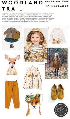 Autumn   Winter 2017 / 18 - Woodland Trail - Younger Girls