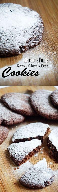 Chocolate Fudge Keto Cookies - Rich chocolate flavor!