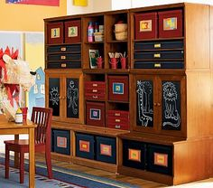 Cameron Wall System Collection in Sun Valley Honey on potterybarnkids.com