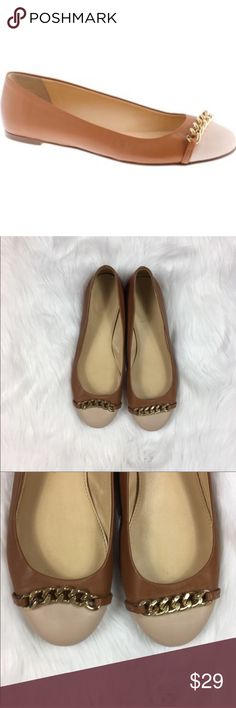 J.Crew Nora Cap Toe Ballet Flats J.Crew Nora Cap Toe Ballet Flats. Size 8. These are very pre-loved condition with life let to give. I recently cleaning them and they are ready for a new home. Great quality flat. Please photos for wear. No box.  ❌I do not Trade 🙅🏻 Or model💲 Posh Transactions ONLY J. Crew Shoes Flats & Loafers