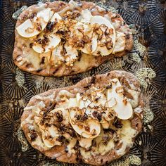Chicken and Apple Flatbread with Caramelized Shallots   Williams Sonoma