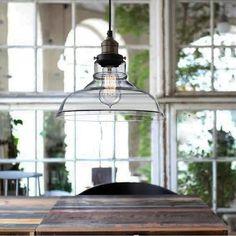 Vintage Industrial Retro Pendant Lighting Ceiling Lamp kitchen Edison Chandelier #Modern