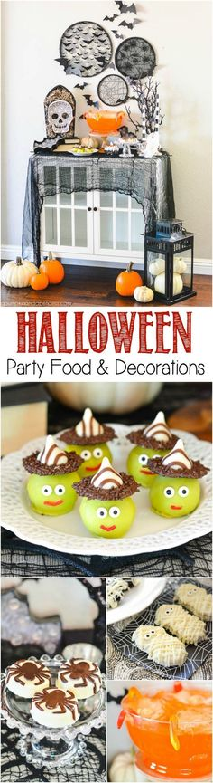 Halloween Party Food Ideas from MichaelsMakers A Pumpkin and a Princess #halloween #party #food [Promotional Pin] (sweepstakes)