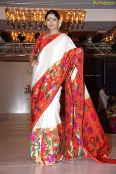 Paithani Saree by Gaurang Shah Kanjivaram Sarees Silk, Kanchipuram Saree, Ethnic Sarees, Indian Sarees, Pakistani, Indian Dresses, Indian Outfits, Indian Clothes, Indian Attire