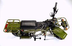 Honda Motra 1982 deep woods bike