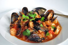 Cioppino - This is my husbands favorite meal. One day I will attempt to make it!