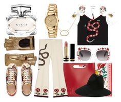 """Presenting the Gucci Garden Exclusive Collection: Contest Entry"" by oursunnycdays ❤ liked on Polyvore featuring Gucci and gucci"