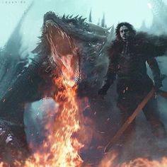 "Polubienia: 3,358, komentarze: 23 – Game Of Thrones (@throneslore) na Instagramie: ""The prince that was promised ❄️"""