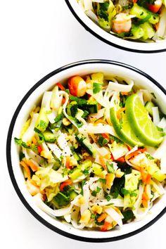 "Vietnamese ""Spring Roll"" Salad"