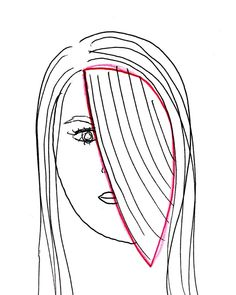 Get banged: How to cut your own side swept bangs