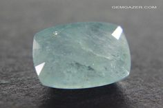 Since it was first discovered in 1902, faceted gems of Grandidierite weighing over a carat were considered extremely rare. Within the last year a new source in Madagascar has yielded crystals of relatively enourmous size, this 5.86 carat faceted gem being a product of the recent discovery.