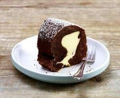 Rezept Schokoladenkuchen mit Käsekuchenfüllung von Missy Freckles - Rezept der Kategorie Backen süß