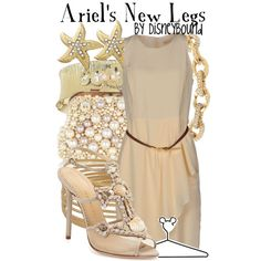 """""""Ariel's New Legs"""" by lalakay on Polyvore"""