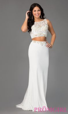 Prom Dresses, Celebrity Dresses, Sexy Evening Gowns: Two Piece Mori Lee Prom Dress
