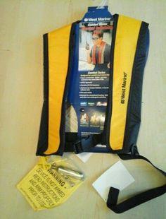 West Marine Inlatable Life Vest Comfort Series NWT
