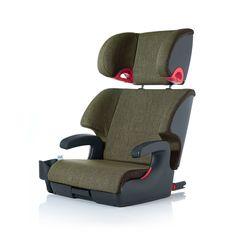 Clek Oobr Booster Car Seat Woodlands