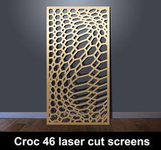 Laser cut patterns for screens and panels I Custom Designs Art Deco Wall Art, Art Deco Mirror, Wooden Front Door Design, Wooden Front Doors, Laser Cut Screens, Laser Cut Metal, Screen Design, Gate Design, Mirror Panel Wall