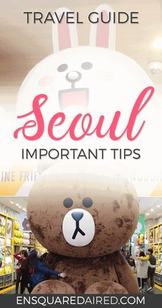 11 Of The Most Useful Travel Tips For Seoul Korea | Is Seoul on your bucket list? Here are some practical and useful tips for Seoul that you need to read! Click on this post for advice and suggestions on what you'll want to know before visiting Seoul. #seoul #seoultravel #seoulfood