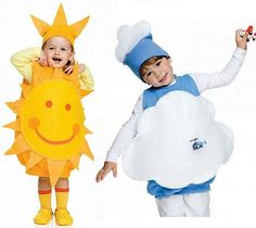 For Halloween or Carnaval 🎃 Food Halloween Costumes, Homemade Costumes, Cute Costumes, Carnival Costumes, Baby Costumes, Halloween Kids, Costumes Faciles, Cloud Costume, Fancy Dress Competition
